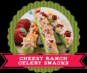 24 Ways to Stuff Celery Recipes Ranch Celery Snacks