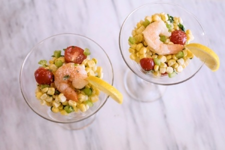 Corn Shrimp Ceviche