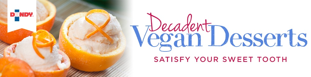 Decadent Vegan Desserts - Satisfy You Sweet Tooth