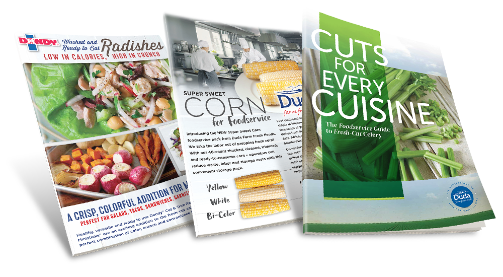 Duda Foodservice Guides