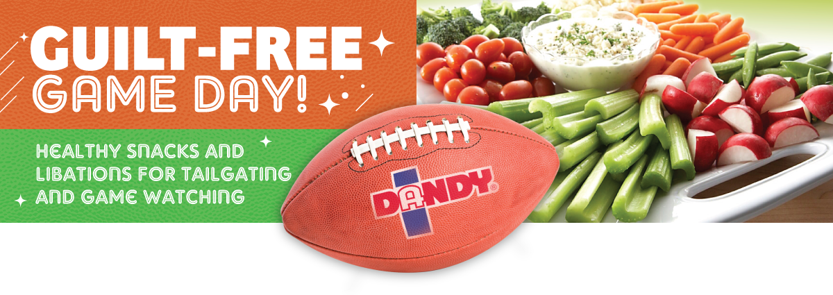 Guilt-Free Game Day! Healthy Snacks and Libations for Tailgating and Game Watching.
