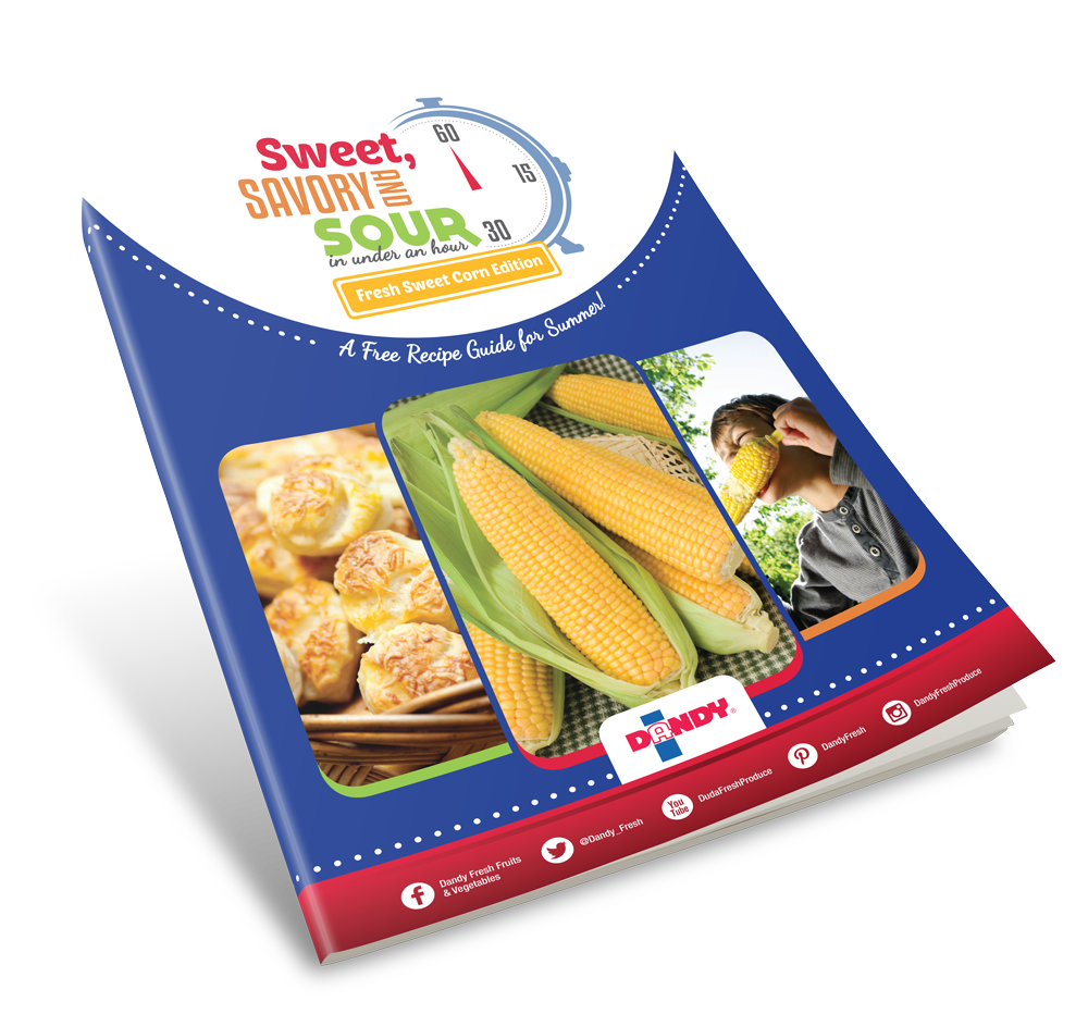 Sweet Savory and Sour Corn Recipe eBook