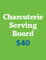 $40 Charcuterie Serving Board