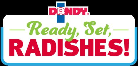Dandy - Ready, Set, Radishes!