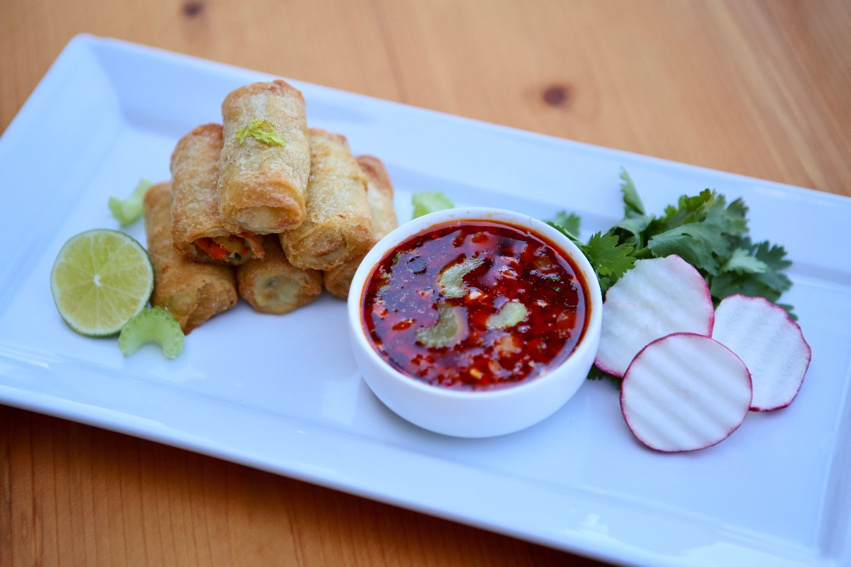 Dandy® Vegetable Spring Rolls with Celery Nuoc Cham